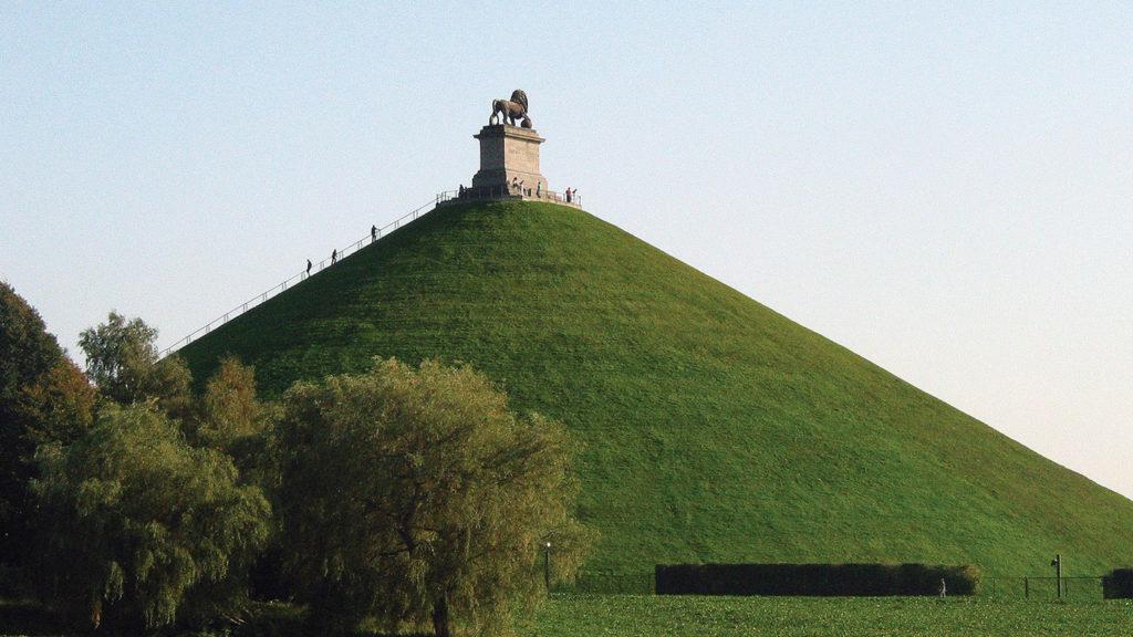 Lion's Mound (la butte du lion)