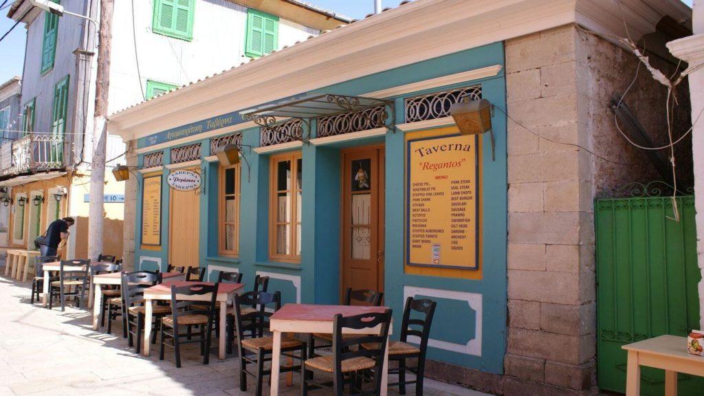 traditional taverna greece