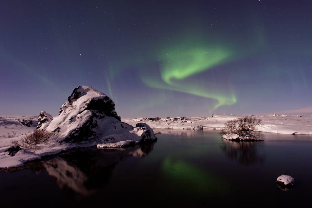 Northern Lights in Iceland - facts about iceland