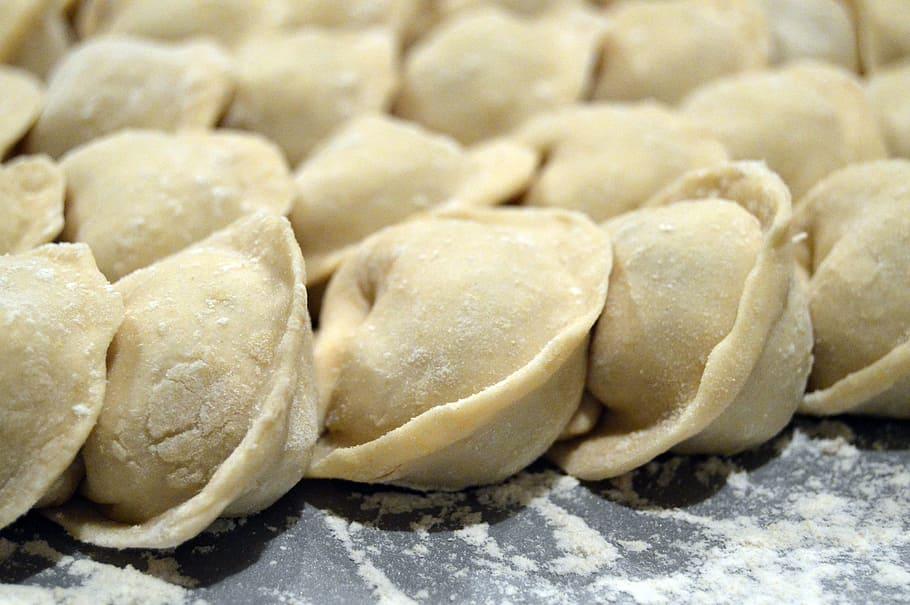 Pelmeni - russian dumplings