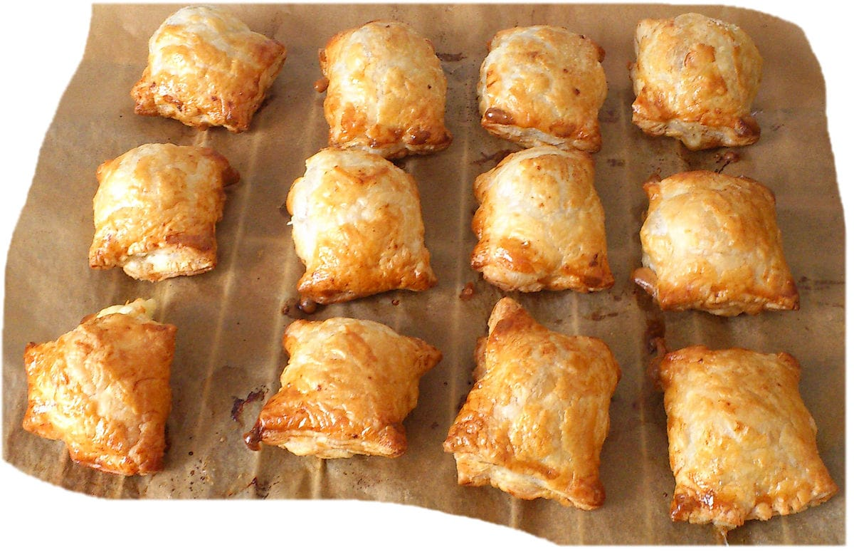 Pirozhki - Puff Pastry with Meat