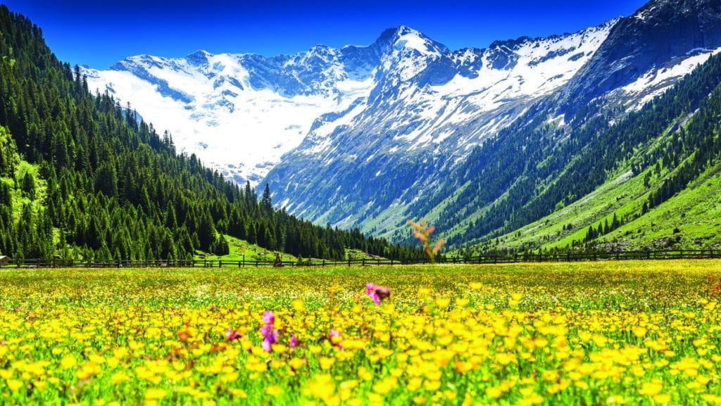 Beautiful Austria that has one of the highest life expectancies