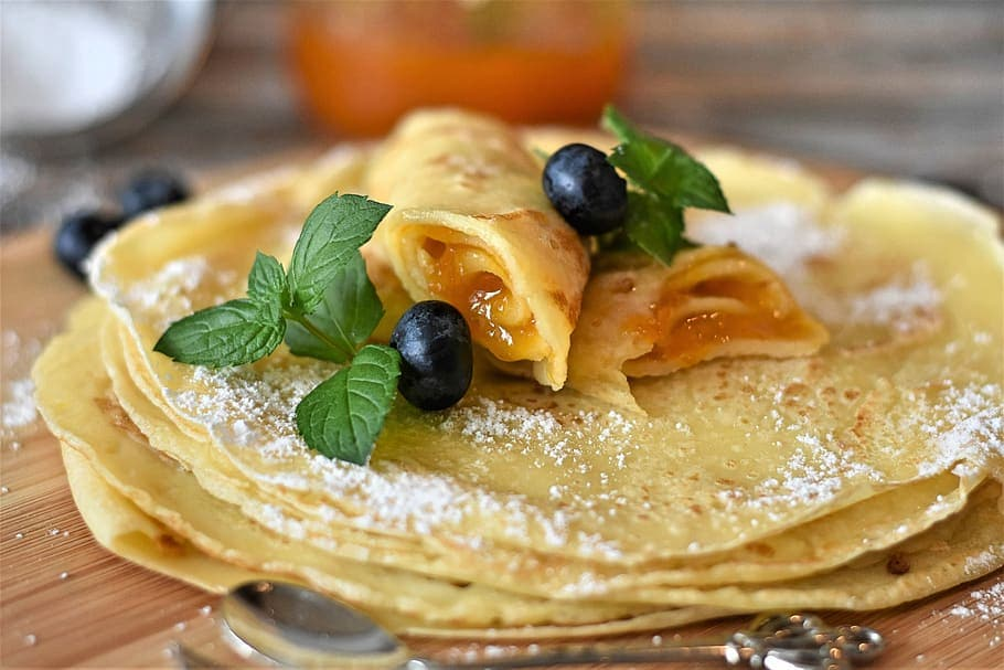 blini - russian pancakes