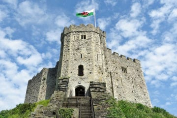 Castle in Cardiff