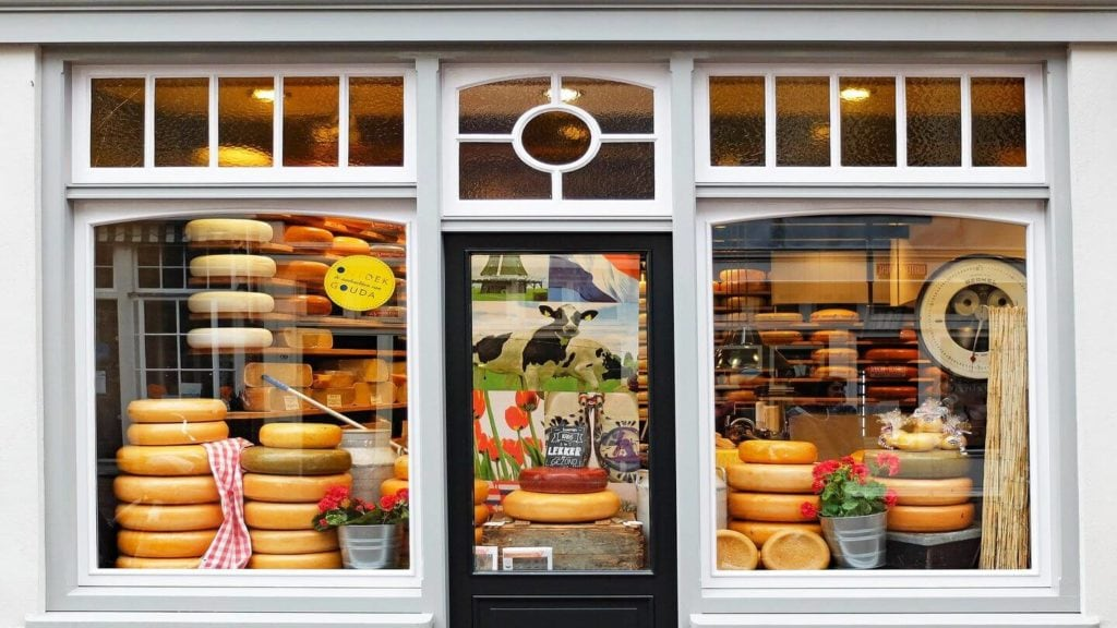 cheese shop travel to netherlands