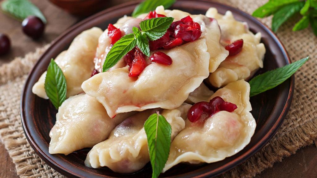 Sweet Polish pierogi