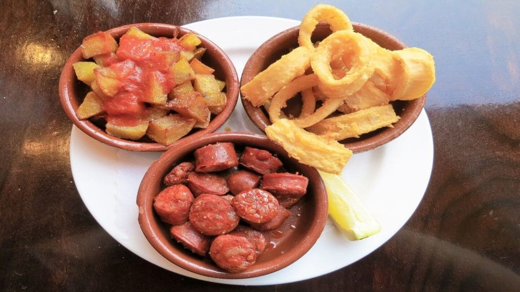 spanish tapas dishes