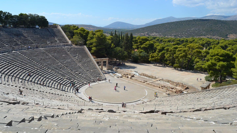 epidaurus theatre greece