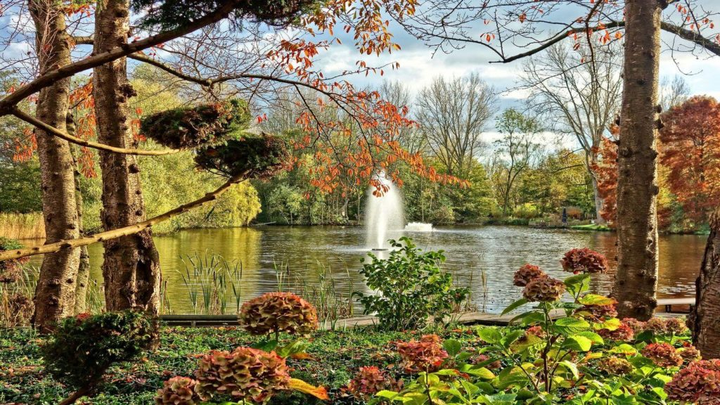 fountain garden park netherlands