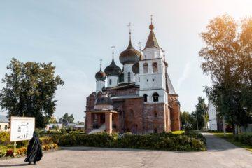 orthodox church in Rostov, Russia