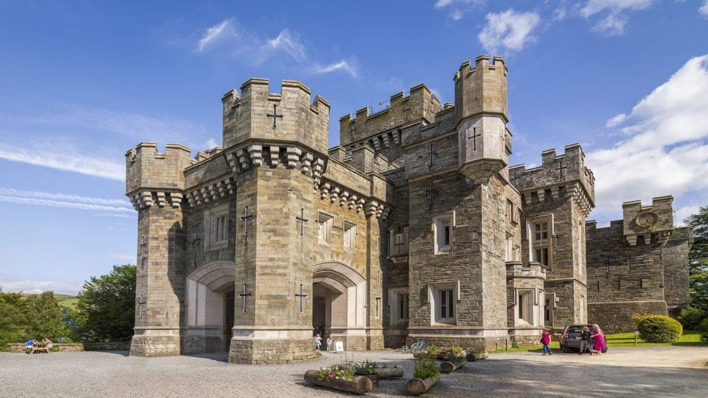 wray castle beatrix potter lake district