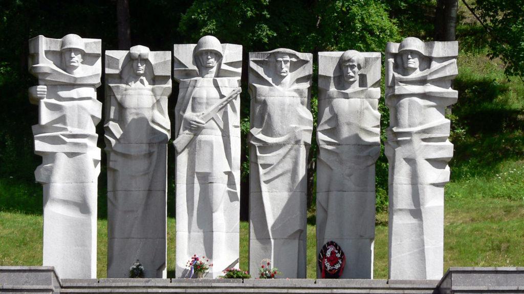 Antakalnis Cemetery in Vilnius Lithuania