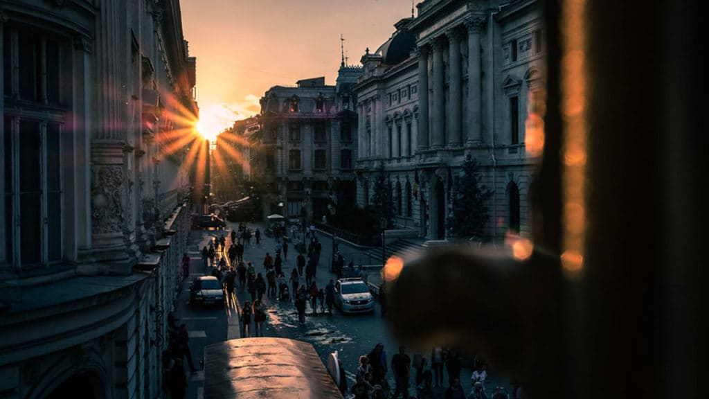 Bucharest's Old Town