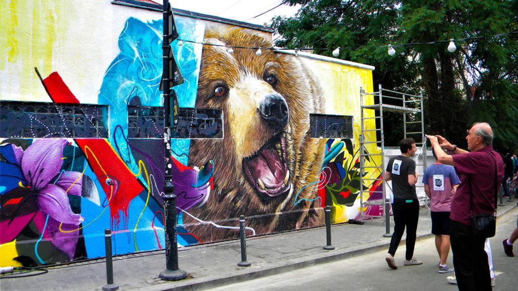Bucharest Street Art on your 24 hours in Bucharest