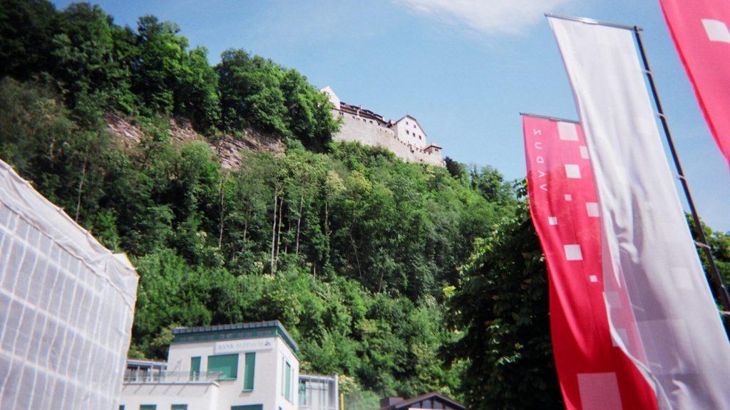 Liechtenstein Castle Flags