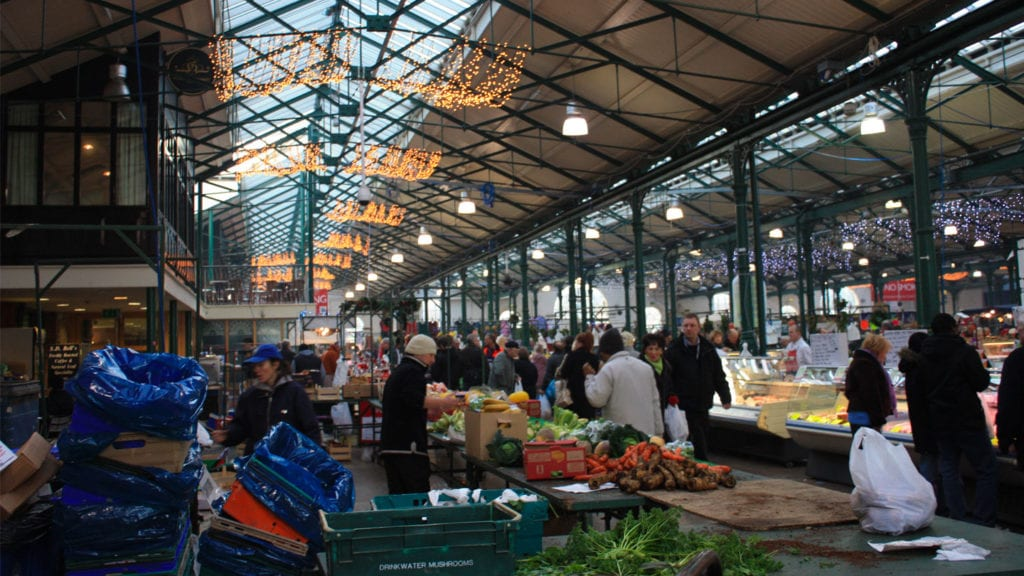 St Georges Market included on Belfast travel guide
