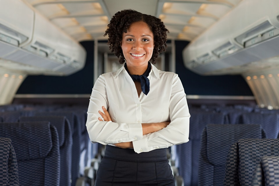female cabin crew