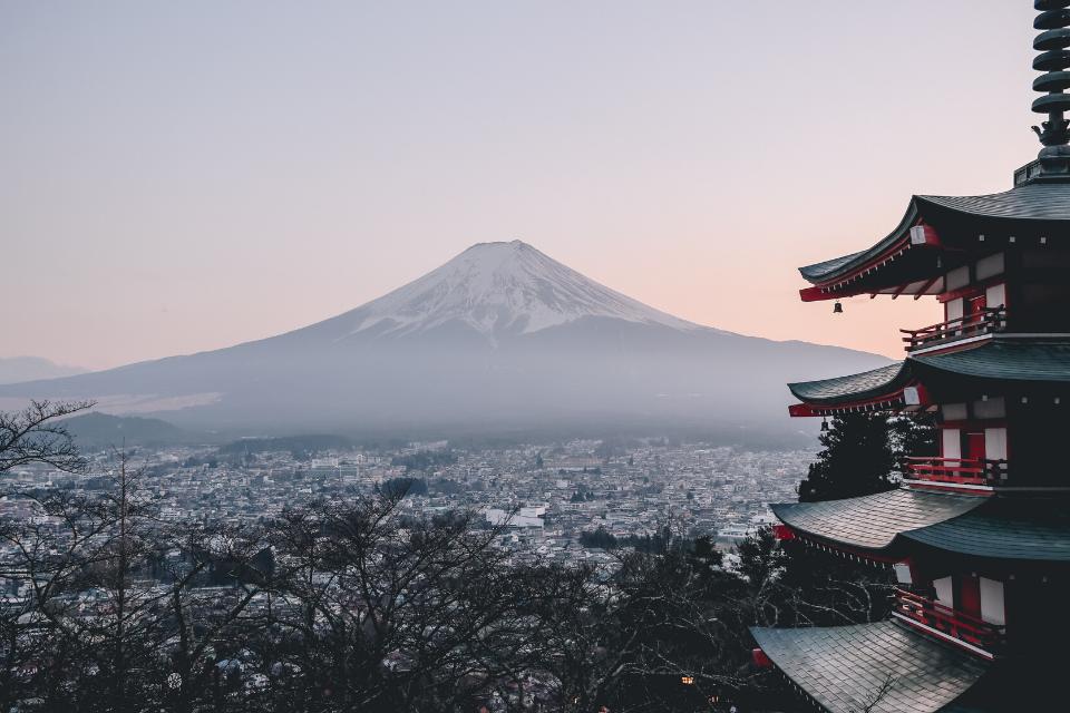 Mt Fuji - Japan is the world's most powerful passport