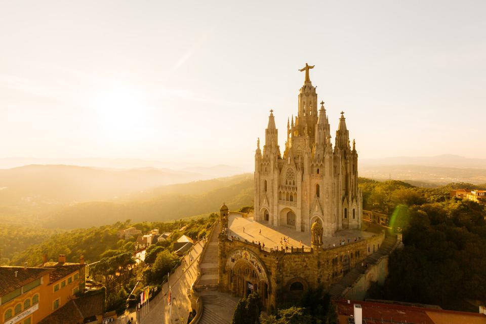 Tibidabo church Barcelona