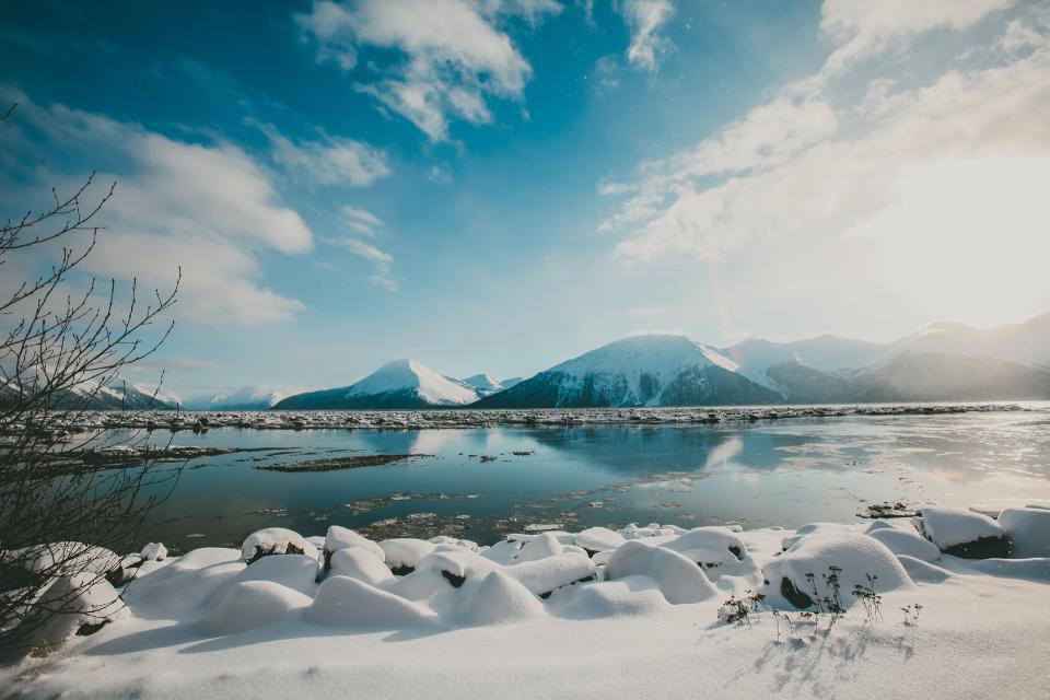 Landscape view in Alaska