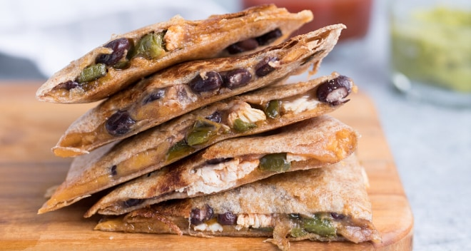 world recipes - quesadillas