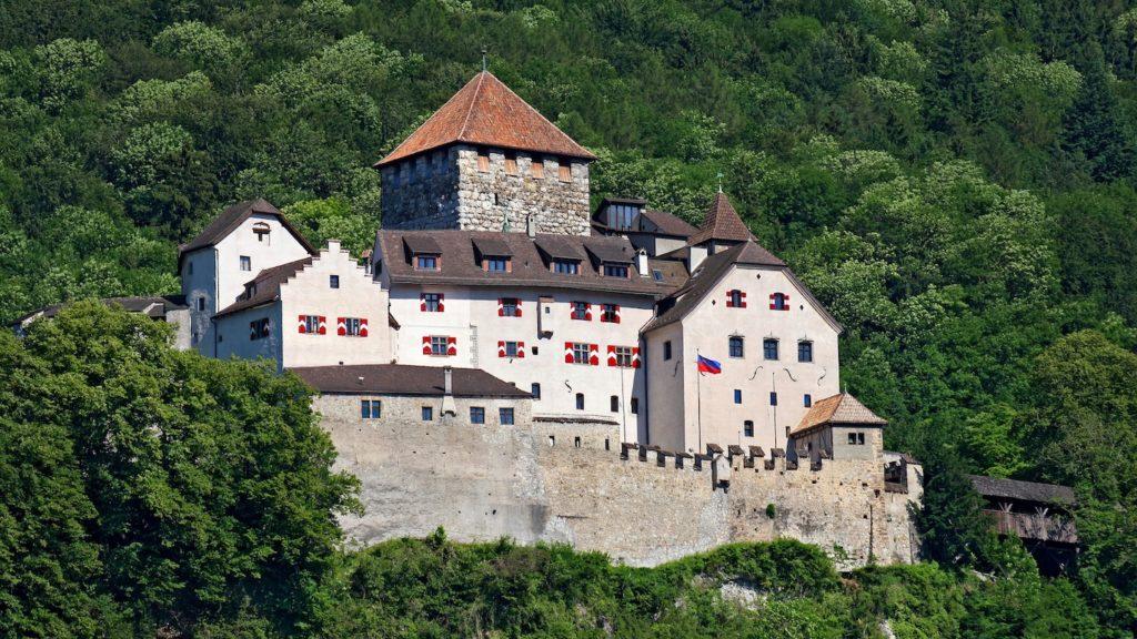 Vaduz Castle Exterior