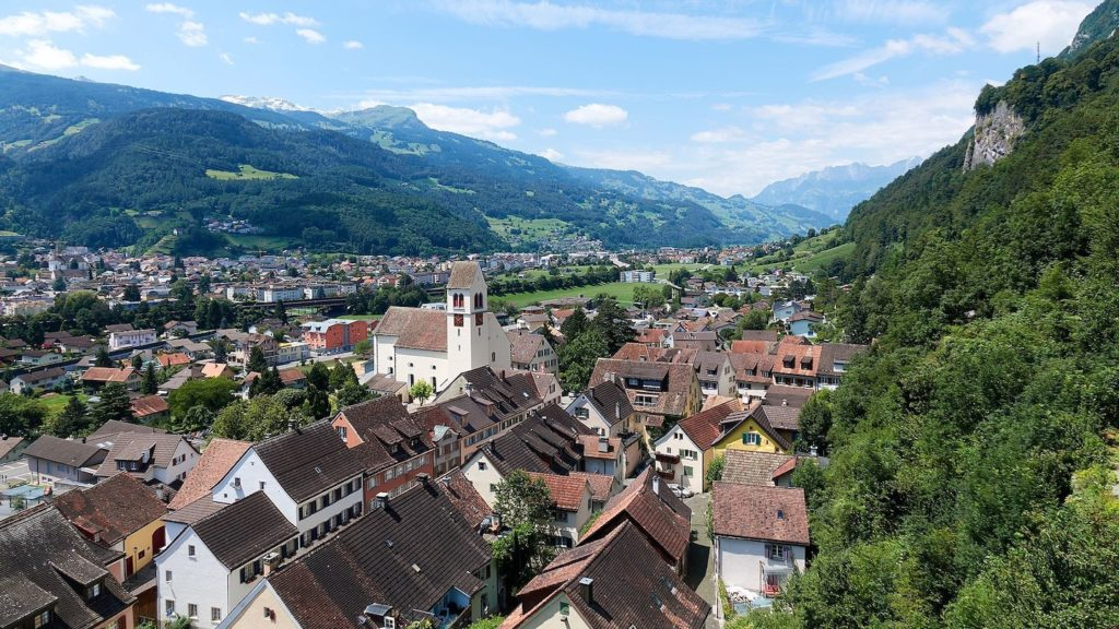 Vaduz view