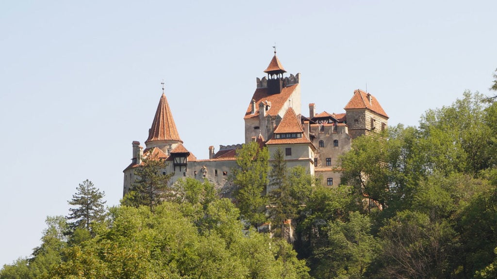 Bran Castle Transylvania Dracula Castle