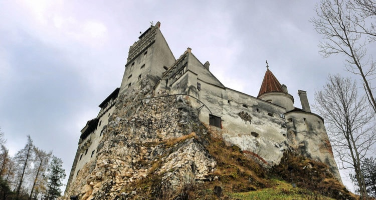 Bran Castle View from bottom