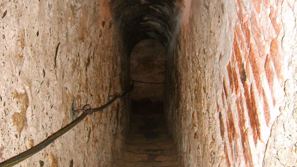 bran castle secret passage