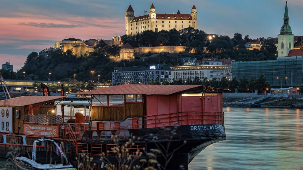 Visit Slovakia and admire the tourist attractions in Bratislava