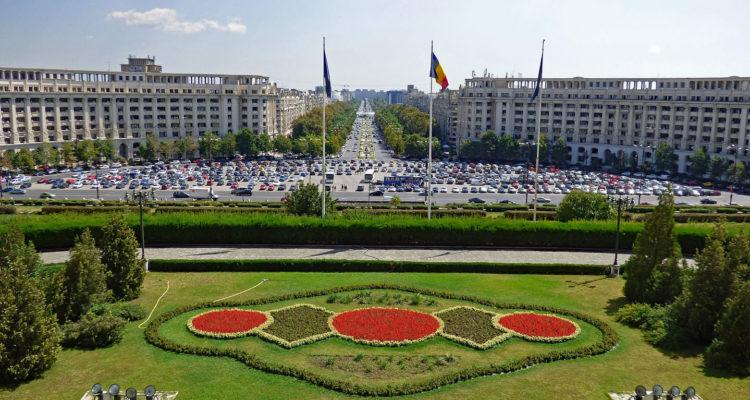 View of Bucharest