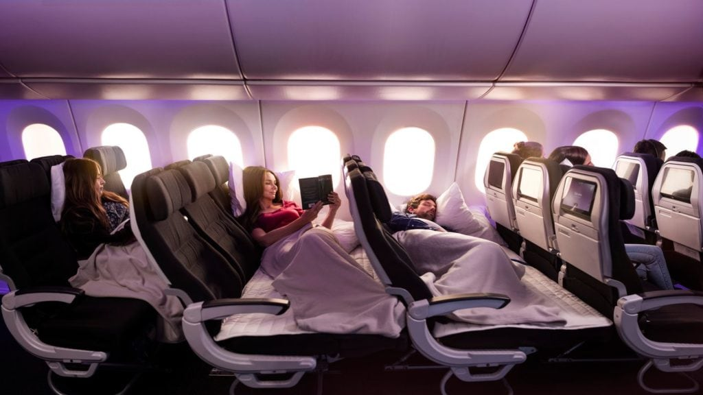 Economy Skycouch Air New Zealand