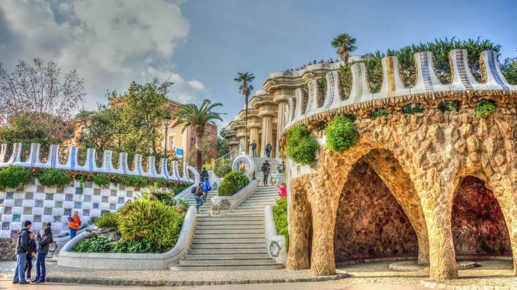 parc guell barcelona overtourism destinations