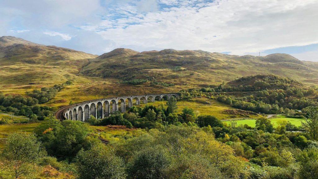 viaduct bridge scotland harry potter filming locations
