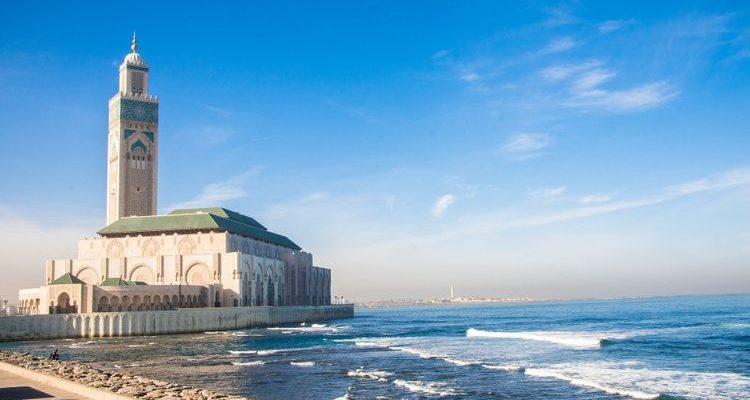 ocean hassan mosque casablanca morocco