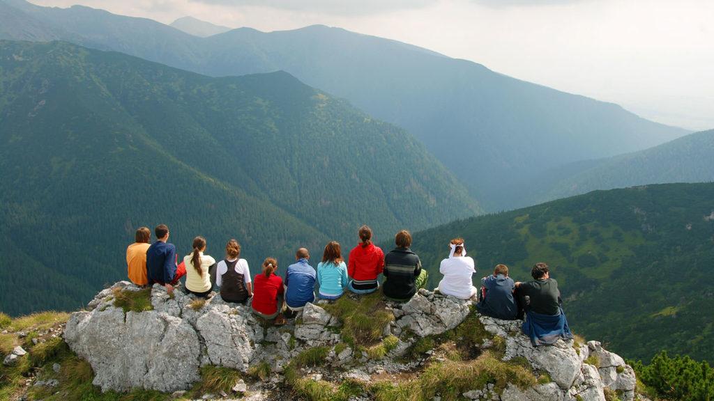 Mountain Landscape in Slovekia