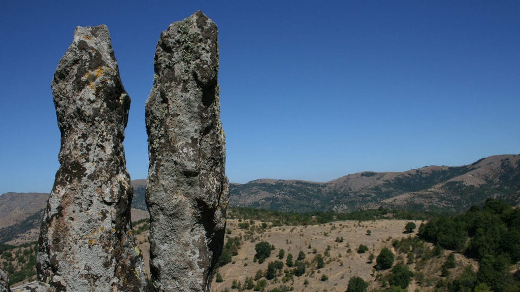 View Kokino columns when you visit Macedonia