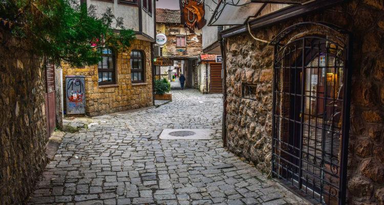 Ohrid street scene