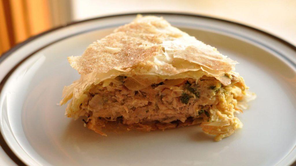 chicken bastilla Moroccan food