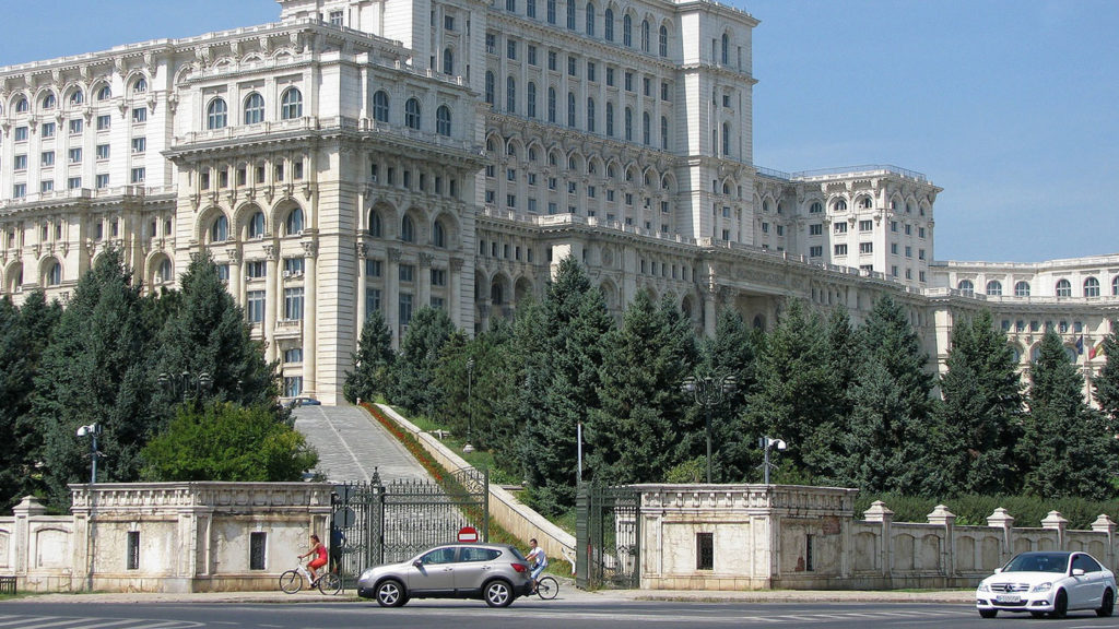 People's House in Bucharest