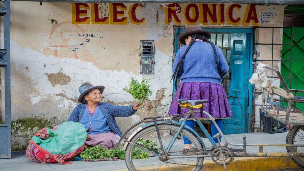 kind Peruvian woman