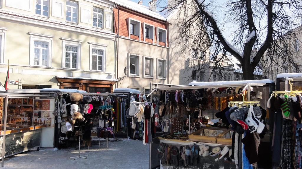 Pilies Street Vilnius Lithuania