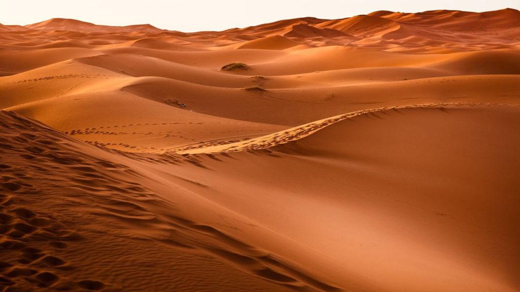 sand dunes sahara desert morocco