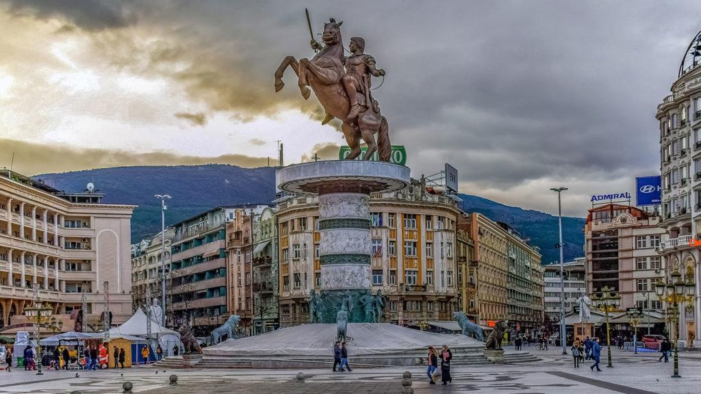 Skopje Statue