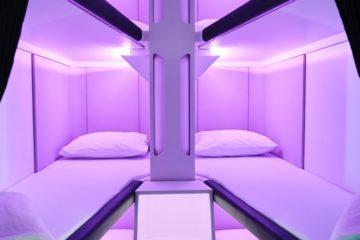 sleep pods economy skynest Air New Zealand