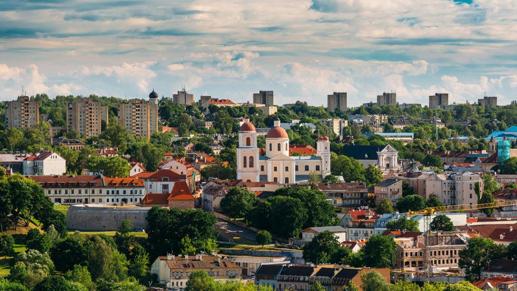 Bastion of Vilnius Lithuania