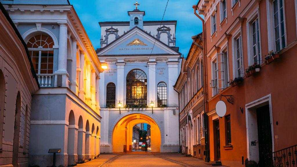 gate of dawn in Vilnius