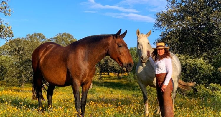 vera and her horses