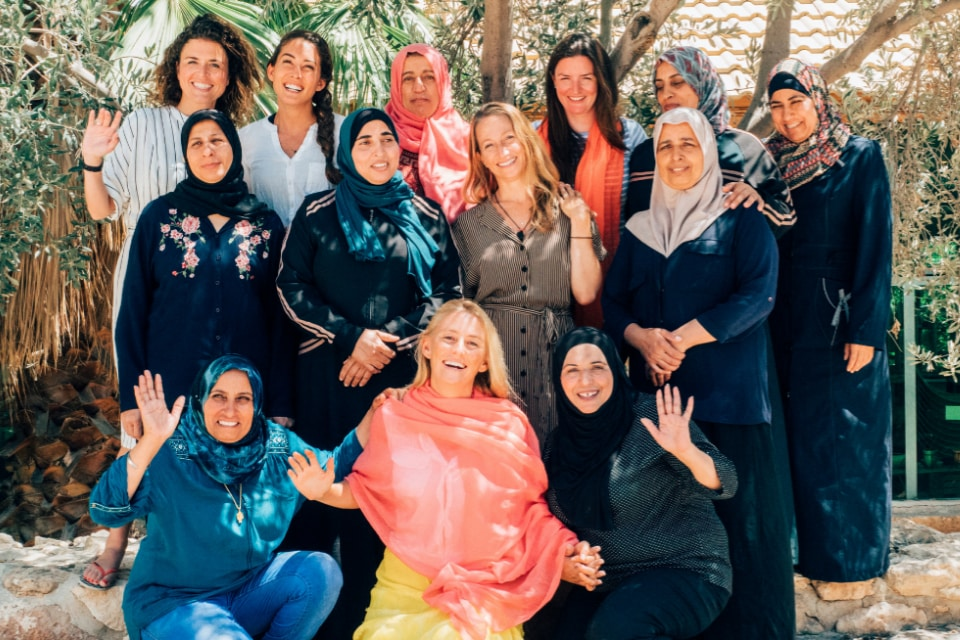 The woman of Iraq Al-Amir's Women's Cooperative